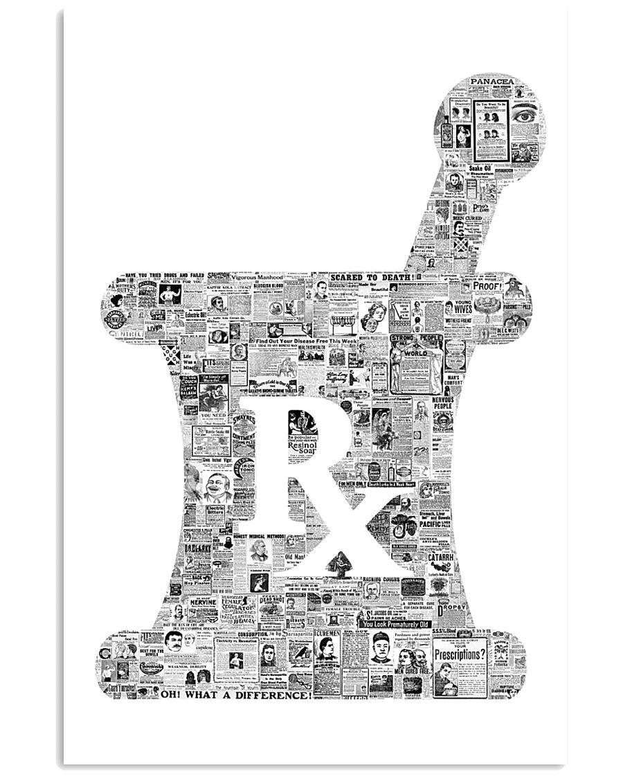 Pharmacist Rx Vintage 11x17 Poster