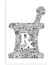 Pharmacist Rx Vintage 11x17 Poster front