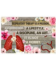 Respiratory Therapy Is A Passion 17x11 Poster front