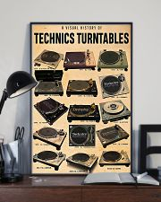 DJ A visual history of technics turntables 11x17 Poster lifestyle-poster-2