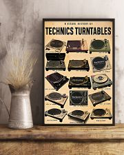 DJ A visual history of technics turntables 11x17 Poster lifestyle-poster-3