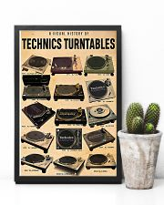 DJ A visual history of technics turntables 11x17 Poster lifestyle-poster-8