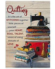 Sewing Quilting Is The Art Of 11x17 Poster front
