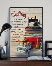 Sewing Quilting Is The Art Of 11x17 Poster lifestyle-poster-2