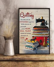 Sewing Quilting Is The Art Of 11x17 Poster lifestyle-poster-3