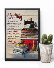 Sewing Quilting Is The Art Of 11x17 Poster lifestyle-poster-8