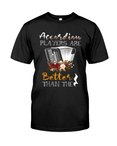Accordion players are better than the rest