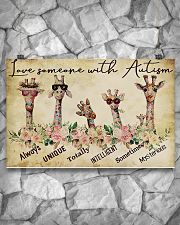 Autism Awareness Love Someone With Autism 17x11 Poster poster-landscape-17x11-lifestyle-13