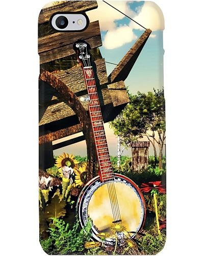 Banjo Nature Scene