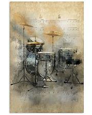 Drummer - Vintage Drum Set 11x17 Poster front