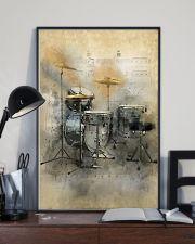 Drummer - Vintage Drum Set 11x17 Poster lifestyle-poster-2