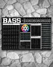 Bass Guitar Black Chart  17x11 Poster aos-poster-landscape-17x11-lifestyle-13