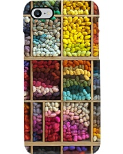 Crochet and Knitting Colorful Wool Rolls Phone Case i-phone-7-case