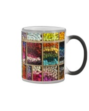 Crochet and Knitting Colorful Wool Rolls Color Changing Mug thumbnail