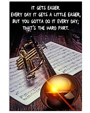 Trumpet It Gets Easier 11x17 Poster front
