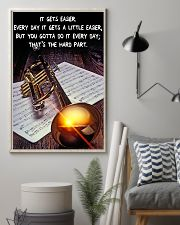 Trumpet It Gets Easier 11x17 Poster lifestyle-poster-1