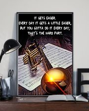 Trumpet It Gets Easier 11x17 Poster lifestyle-poster-2