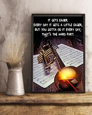 Trumpet It Gets Easier 11x17 Poster lifestyle-poster-3