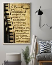 Piano The Musician's Prayer Poster 11x17 Poster lifestyle-poster-1