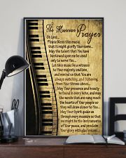 Piano The Musician's Prayer Poster 11x17 Poster lifestyle-poster-2