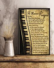 Piano The Musician's Prayer Poster 11x17 Poster lifestyle-poster-3