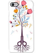Hairstylist Scissors Tree Magnets Phone Case i-phone-7-case