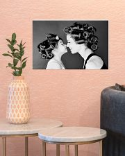 Hairdresser Mom And Daughter 17x11 Poster poster-landscape-17x11-lifestyle-21