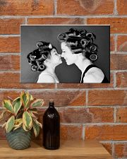 Hairdresser Mom And Daughter 17x11 Poster poster-landscape-17x11-lifestyle-23