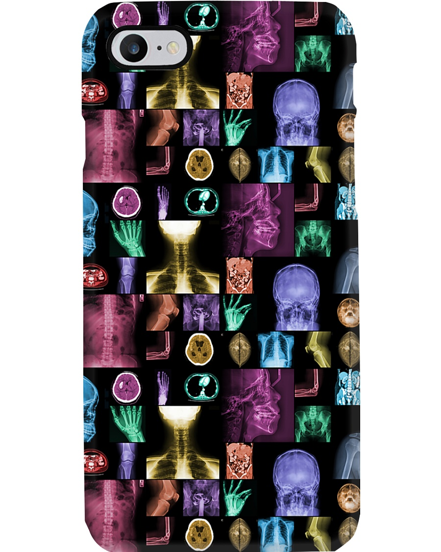 Colorful X-ray Image Radiology  Phone Case
