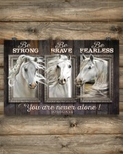 Horse Girl - You Are Never Alone 17x11 Poster aos-poster-landscape-17x11-lifestyle-14