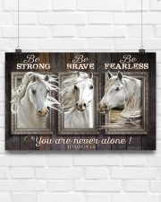 Horse Girl - You Are Never Alone 17x11 Poster aos-poster-landscape-17x11-lifestyle-17