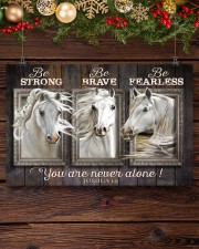 Horse Girl - You Are Never Alone 17x11 Poster aos-poster-landscape-17x11-lifestyle-27