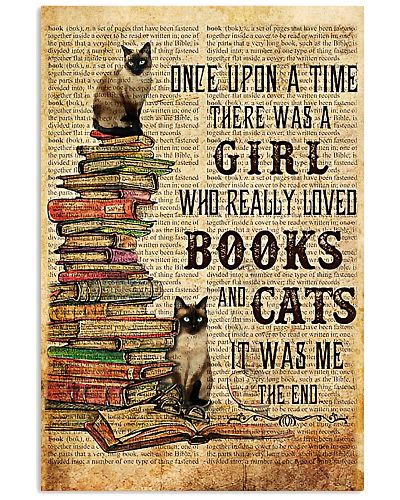 Book A Girl Who Really Loved Books And Cats