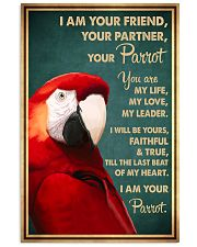 Parrot I Am Your Friend 11x17 Poster front