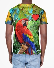 Beautiful Parrot All-over T-Shirt aos-all-over-T-shirt-lifestyle-back-02