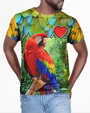 Beautiful Parrot All-over T-Shirt aos-all-over-T-shirt-lifestyle-front-04