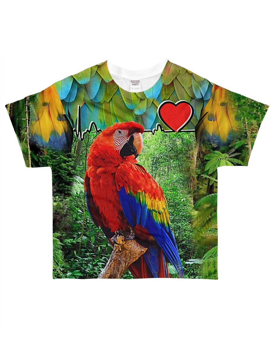 Beautiful Parrot All-over T-Shirt