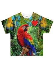 Beautiful Parrot All-over T-Shirt front