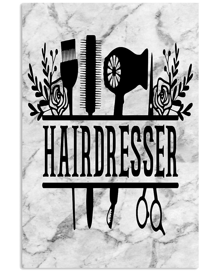 Hairdresser Tools Art 11x17 Poster
