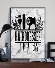 Hairdresser Tools Art 11x17 Poster lifestyle-poster-2