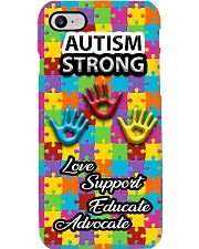 Autism Awareness Autism Strong Love Support Phone Case i-phone-7-case