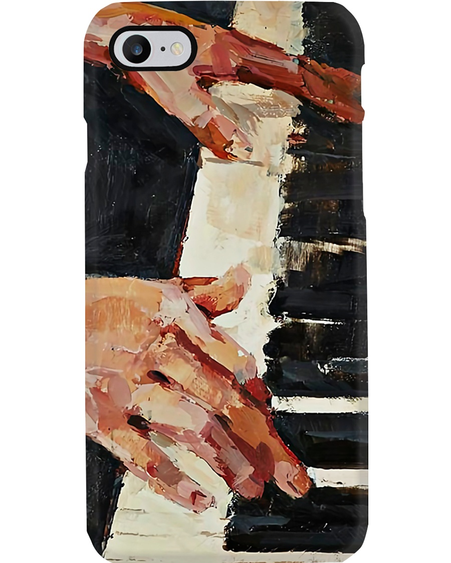 Pianist Playing Piano  Phone Case