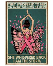 Breast Cancer I Am The Storm 11x17 Poster front