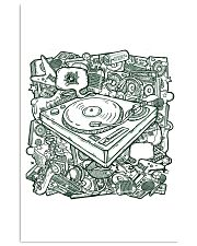 Unique DJ Doodle Art 11x17 Poster front