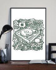 Unique DJ Doodle Art 11x17 Poster lifestyle-poster-2