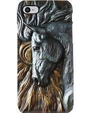 Horse Girl Carving Horse  Phone Case i-phone-7-case