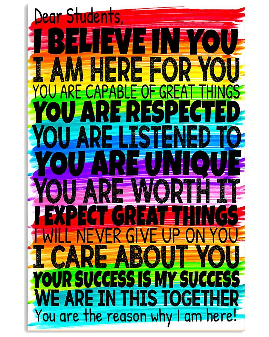 Teacher Rainbow Board 11x17 Poster
