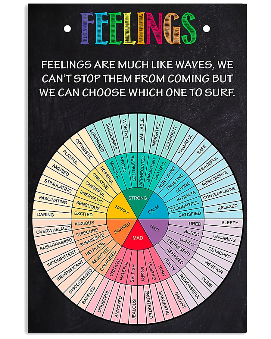Teacher Feelings  11x17 Poster
