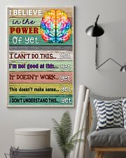 Power Of Yet Teacher  11x17 Poster lifestyle-poster-1