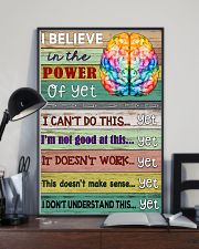 Power Of Yet Teacher  11x17 Poster lifestyle-poster-2